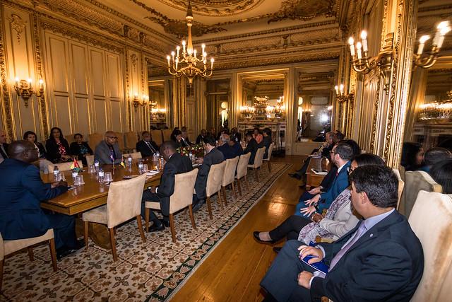 18.05.Ministros dos Assuntos Exteriores da Guiné Equatorial visita Sede da CPLP