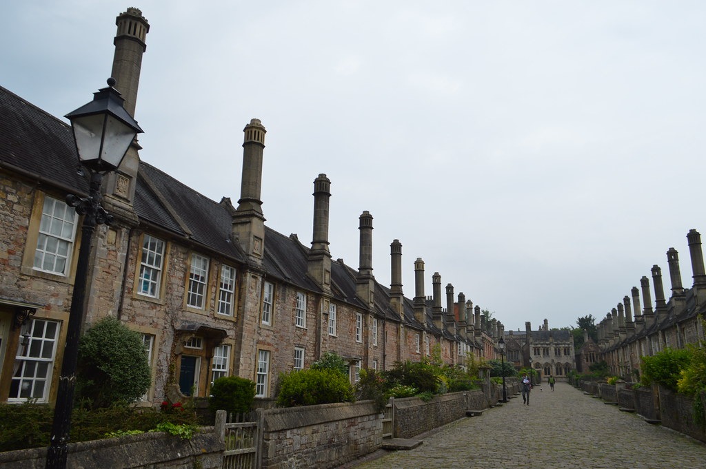 This is a picture of vicar's close wells