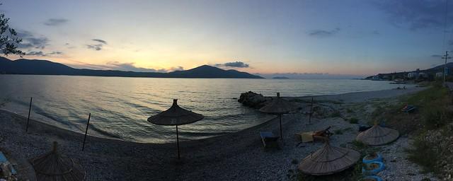 Vlore Beach Panorama, Albania