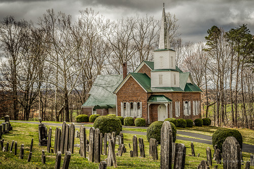 nationalregisterofhistoricplaces churches historic backroadphotography nikond7200 surgoinsville tennessee ruralphotography ruralchurches countrychurches cemetery presbyterian christianity faith