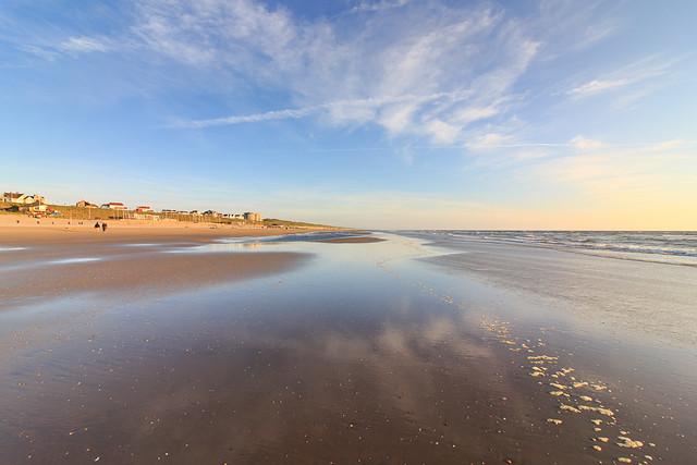 Around sunset: Zandvoort aan Zee