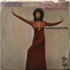 FREDA PAYNE:CHERISH WHAT IS DEAR TO YOU(WHILE IT'S NOT TO YOU)(JACKET A)