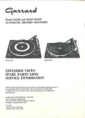 Garrard TechEng Service Manual SL55B SL65B
