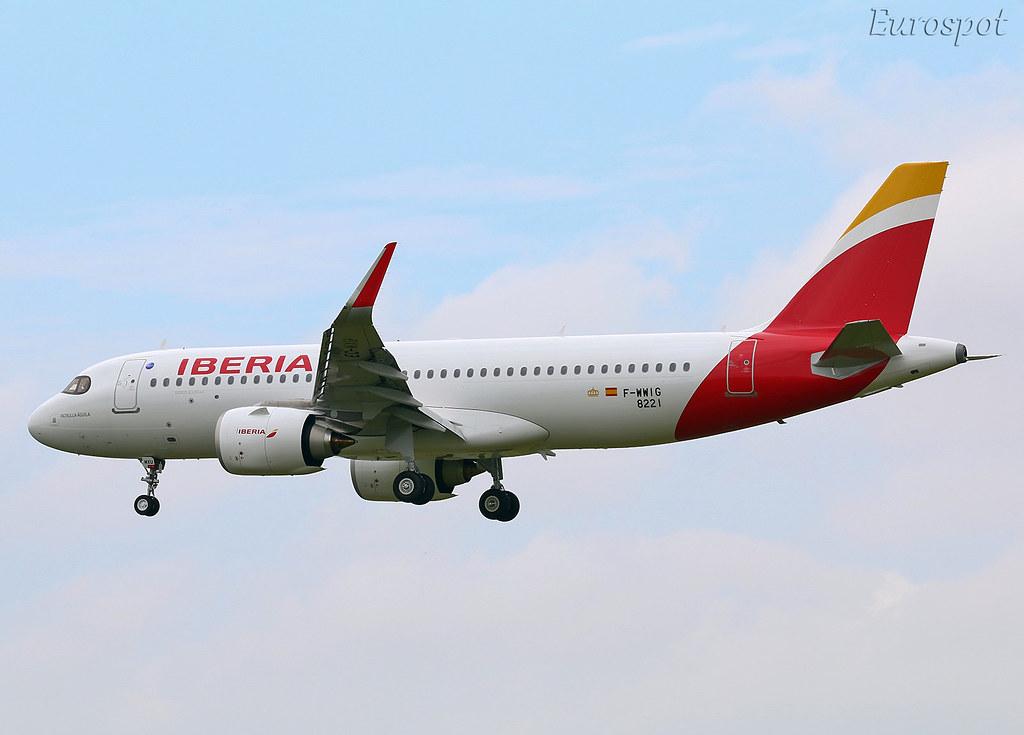F-WWIG Airbus A320 Neo Iberia