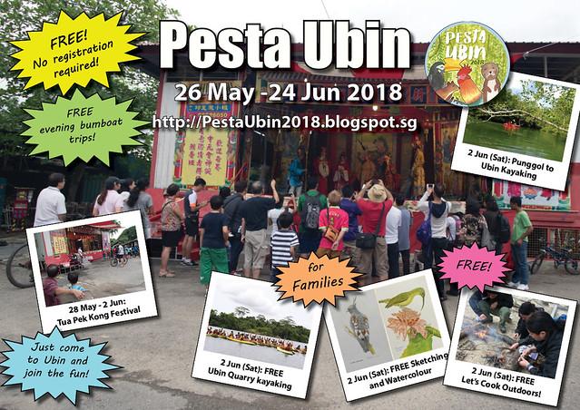 Pesta Ubin 2018: 28 May - 2 June