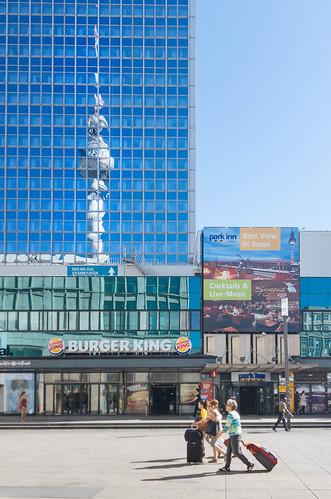 147 Sunshine, Tourists, Burger King and the TV Tower