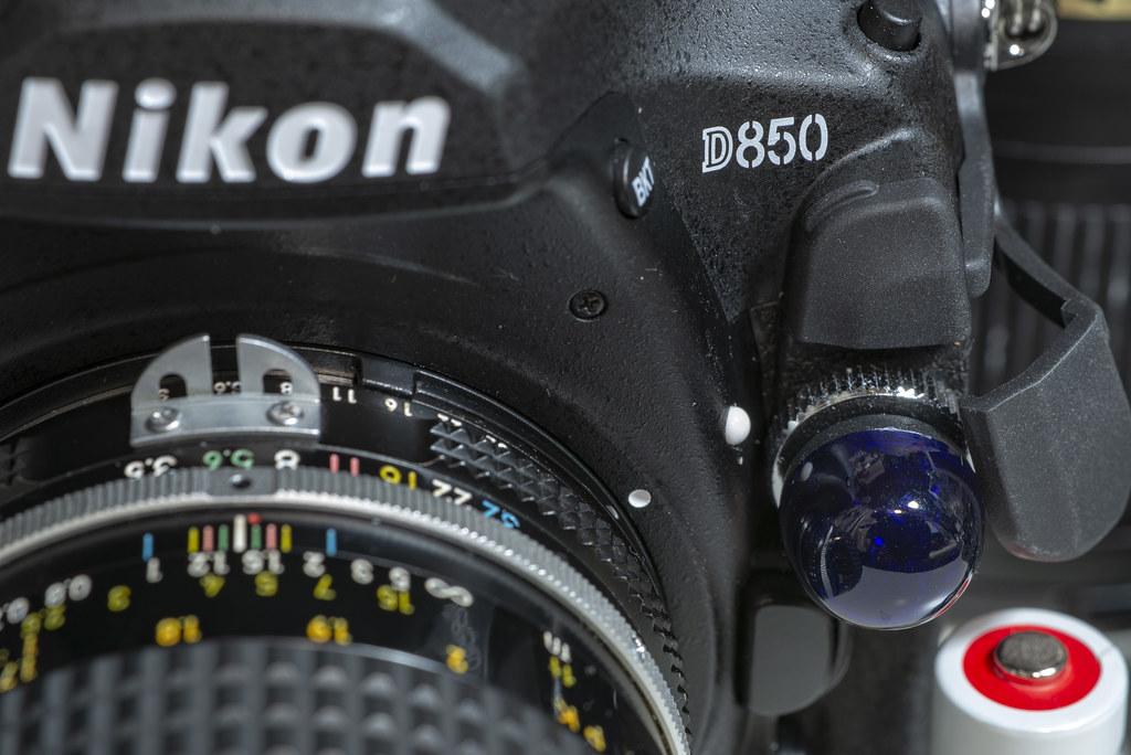 『Velbon Twin1 R4N』 on D850