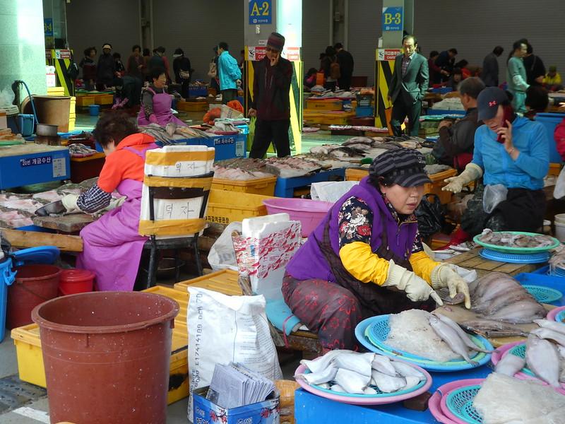 Jagalchi Fish Market, Nampo, Busan