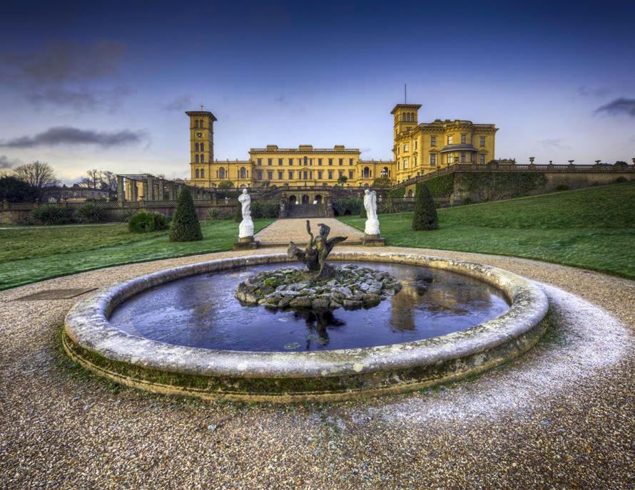 Osborne House, Isle of Wight. Credit Antony McCallum