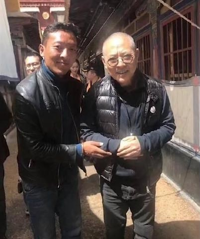Foto penampilan Jet Li yang viral di media sosial