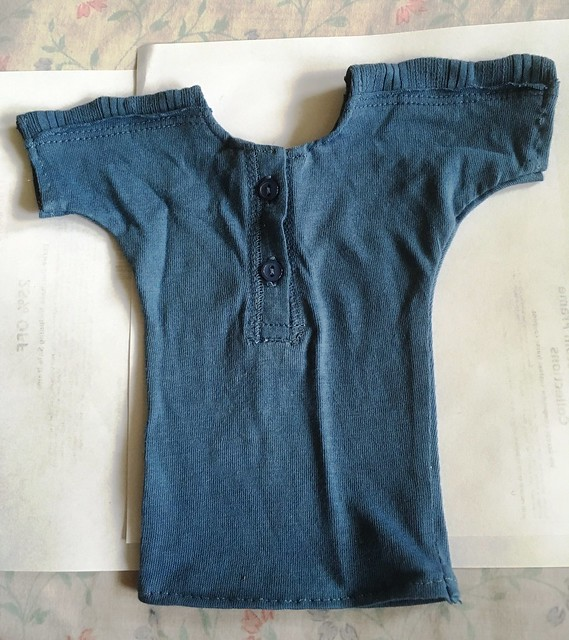 Henley t for SD or Dollshe boys 8