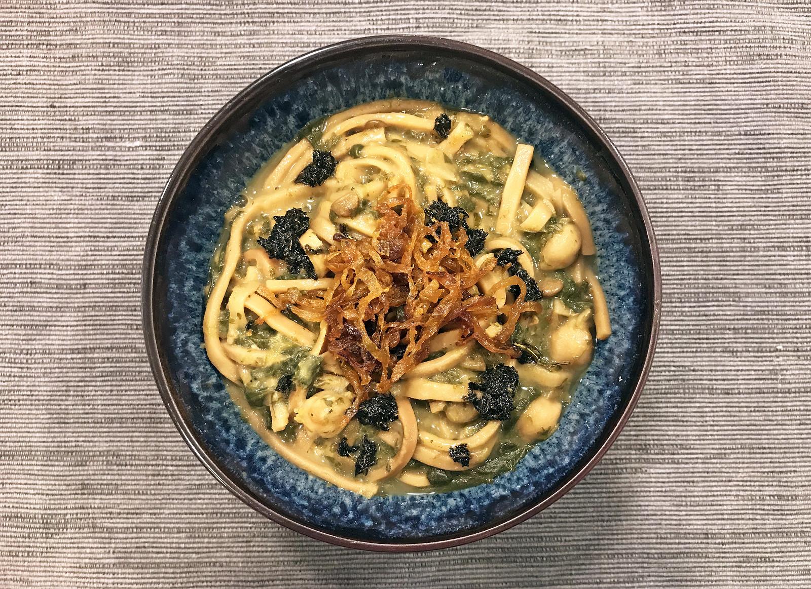 Ash-e Reshteh (Iranian Noodle Soup)