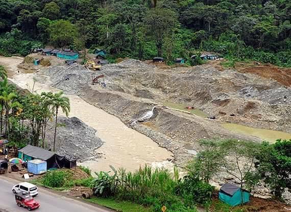 Mineria ilegal en chocó