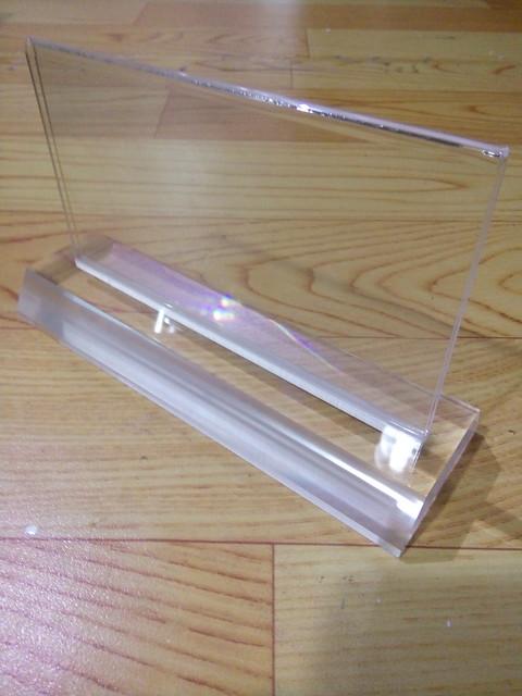 Biển chức danh sản xuất hàng loạt với giá rẻ bằng nhựa Mica trong (10)