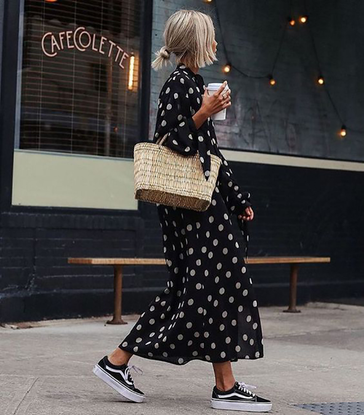 polka dot outfits for this summer trend 2018 style fashion tendencias2