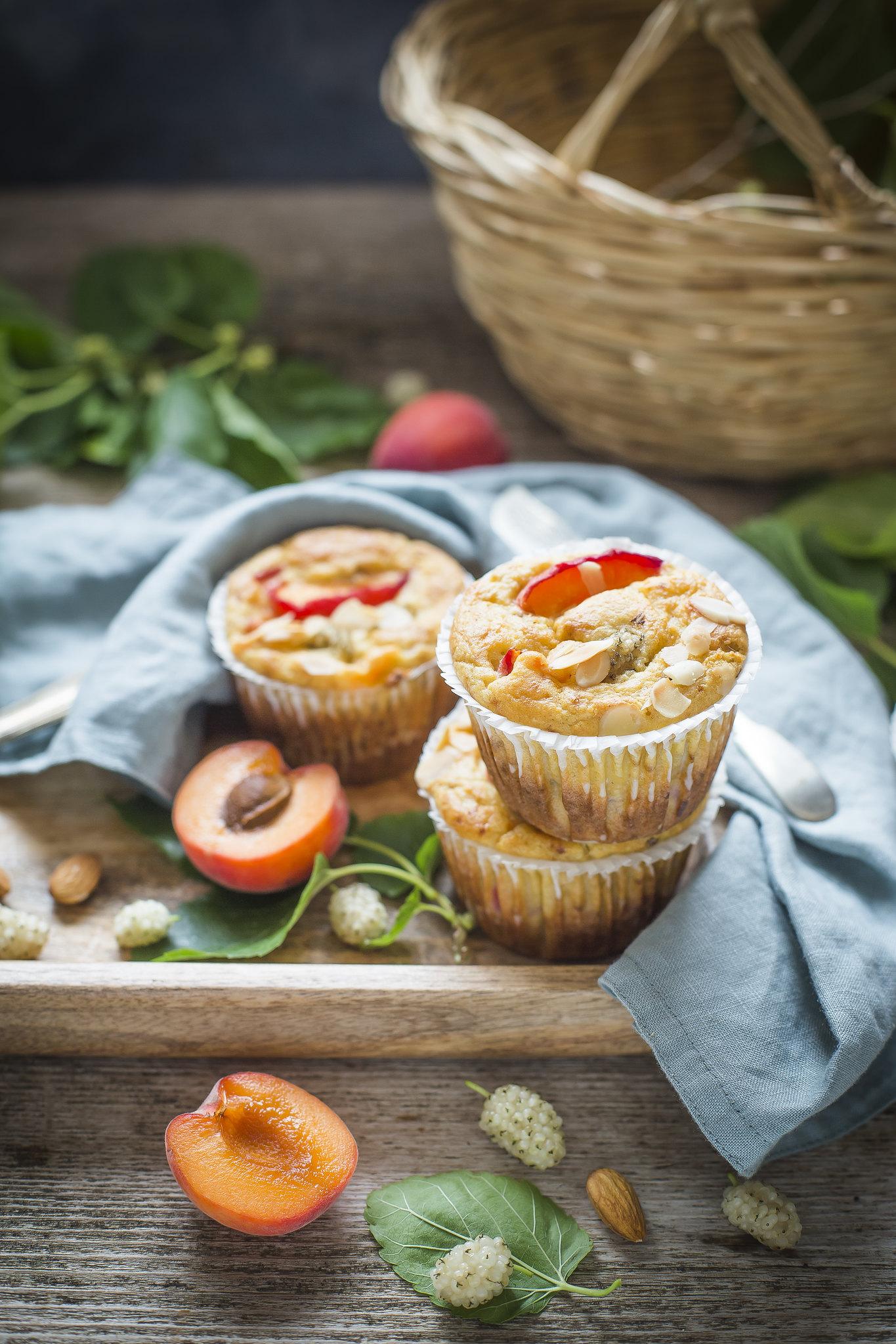 Muffin alla ricotta - senza zuccheri aggiunti