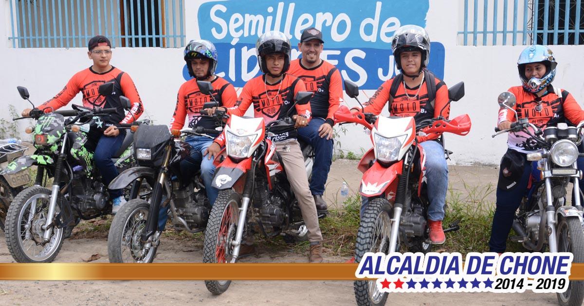 Moto aventura recorrerá parroquias de Chone