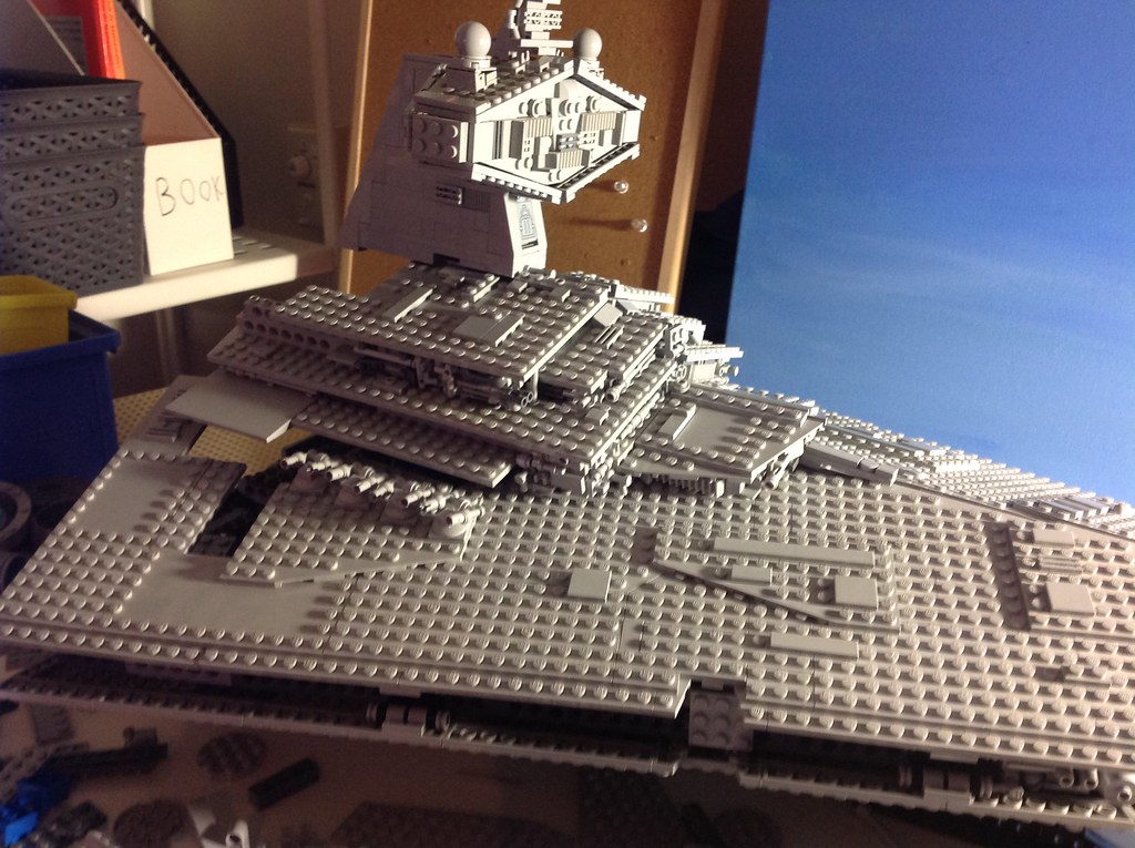 Lego Star Destroyer build