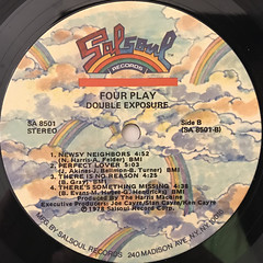 DOUBLE EXPOSURE:FOUR PLAY(LABEL SIDE-B)