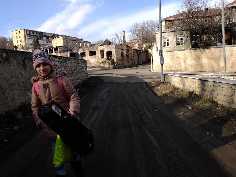 Нагорный Карабах. Шуши - город-руины
