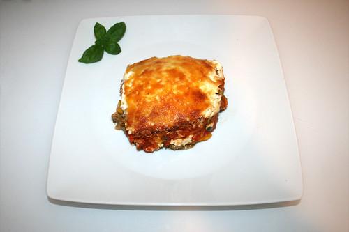 65 - Gyros tomato rice casserole - Served / Gyros-Tomatenreis-Auflauf - Serviert