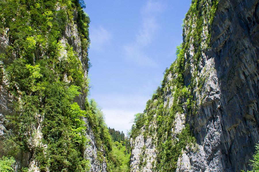 Ущелье, дорога к озеру Рица. Абхазия - авторские путешествия Kartazon Dream