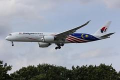 A350 9M-MAC London Heathrow 15.06.18