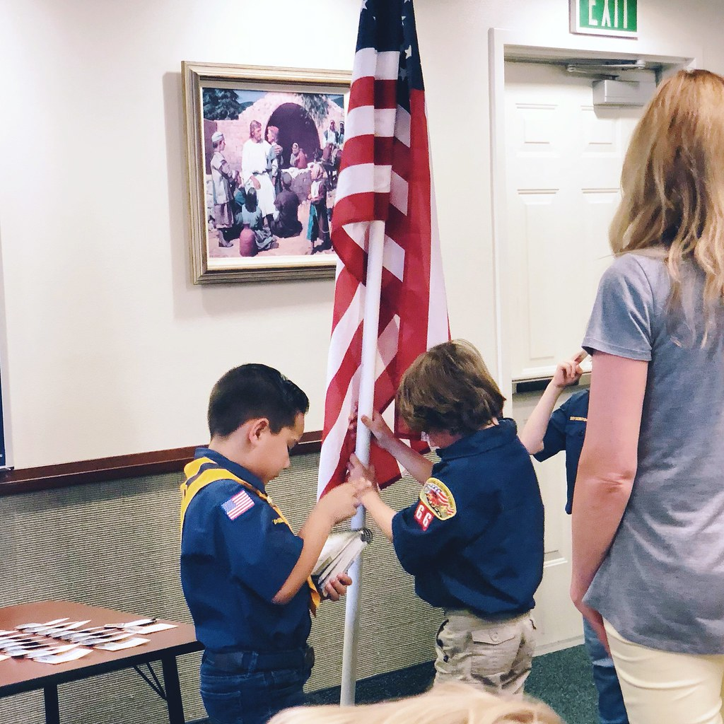 Cub Scout Pack Meeting