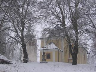 Kostel a Zvonice v Mladých Bukách