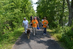 Reps. Zawistowski and Storms host a Trails Day hike along the Windsor Locks Canal Trail