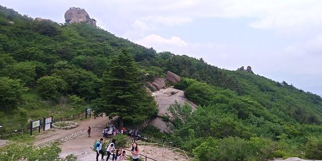 마음은 상큼, 몸은 가뿐 | 화북초등학교 문장대 가족 산행