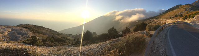 Panorama near Dhermi, Albania 02