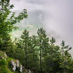 Tramonto nebbioso a Rocca Calascio / Foggy Sunset in Rocca Calascio