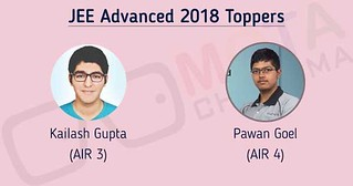 JEE Advanced Topper 2018  AIR 3 and AIR 4