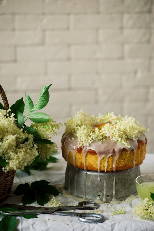 Elderflower and Orange Bundt Cake.
