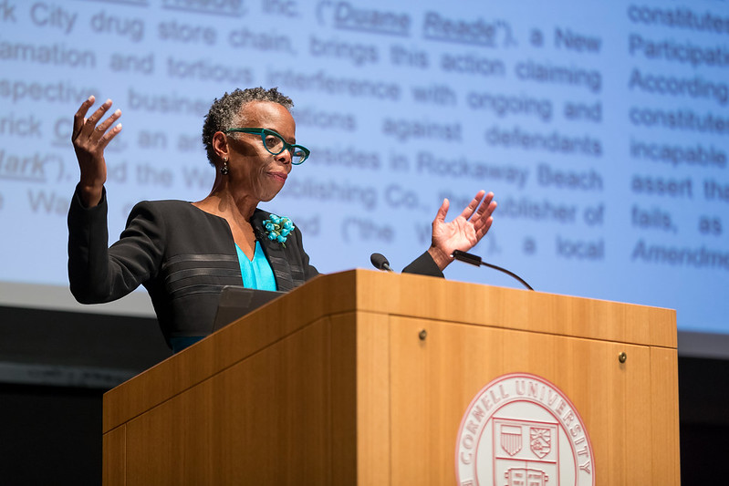 Reunion 2018: Olin Lecture Featuring The Honorable Debra James, AB '75, JD '78