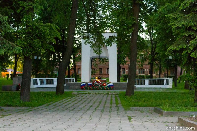 Мемориал суздальцам, погибшим в Великой Отечественной войне