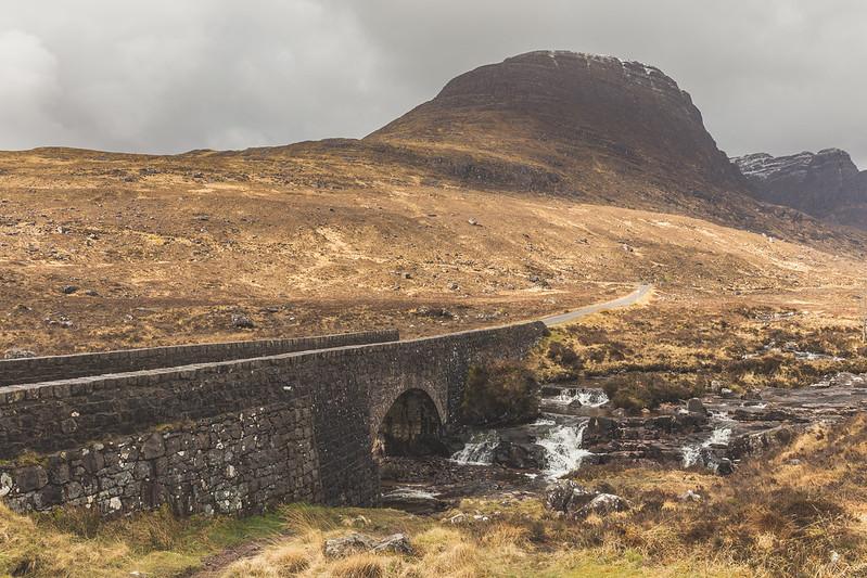Bealach na Ba - road to Applecross - Scotland 2017