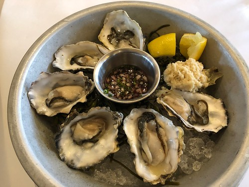 Washington state oysters before