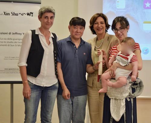I Seminari del Maestro Jeffrey Yuen - 2018. Consegna diploma: Ilaria Avanzi