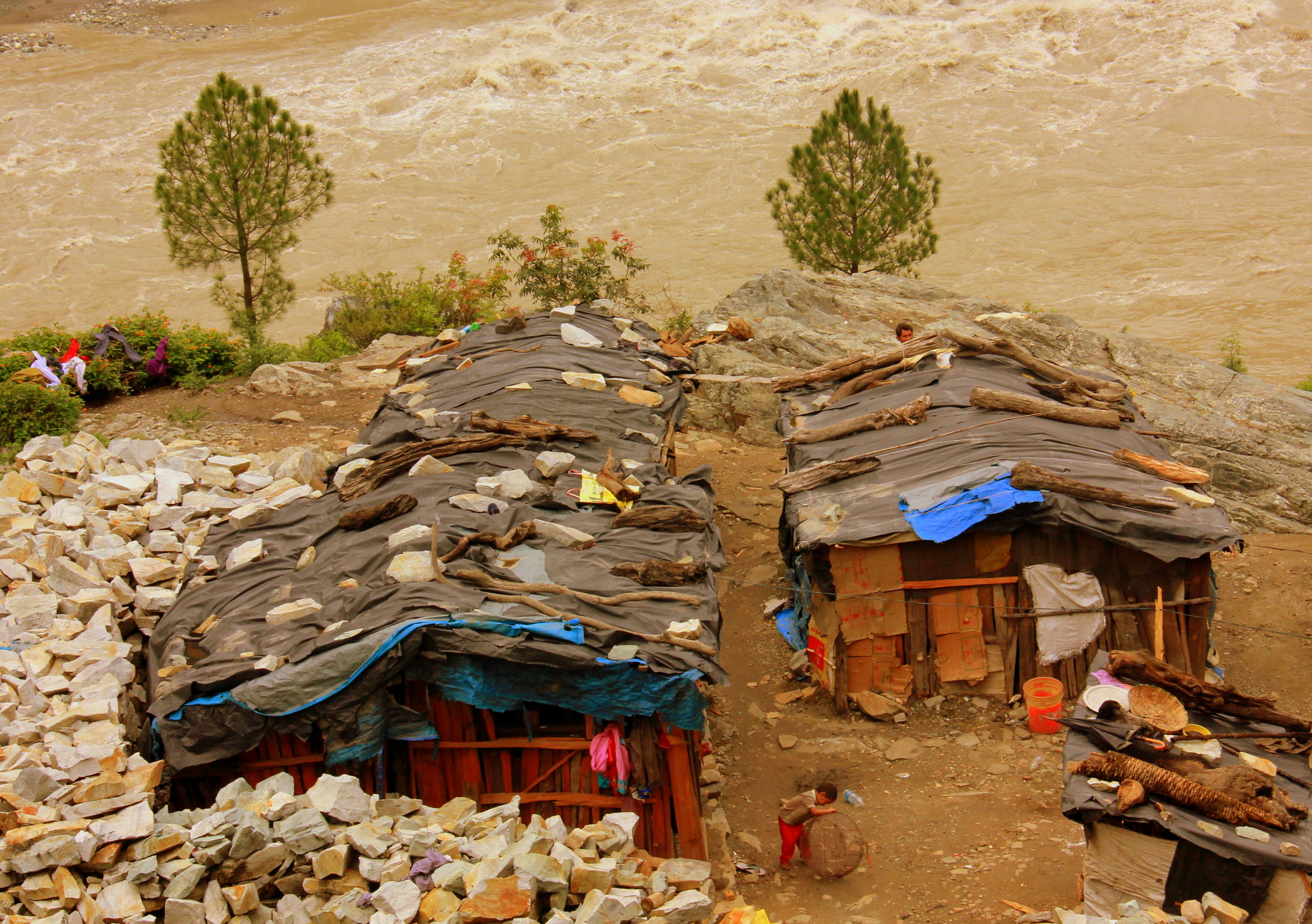 Little hamlets have sprung around the uttarakhand prayags