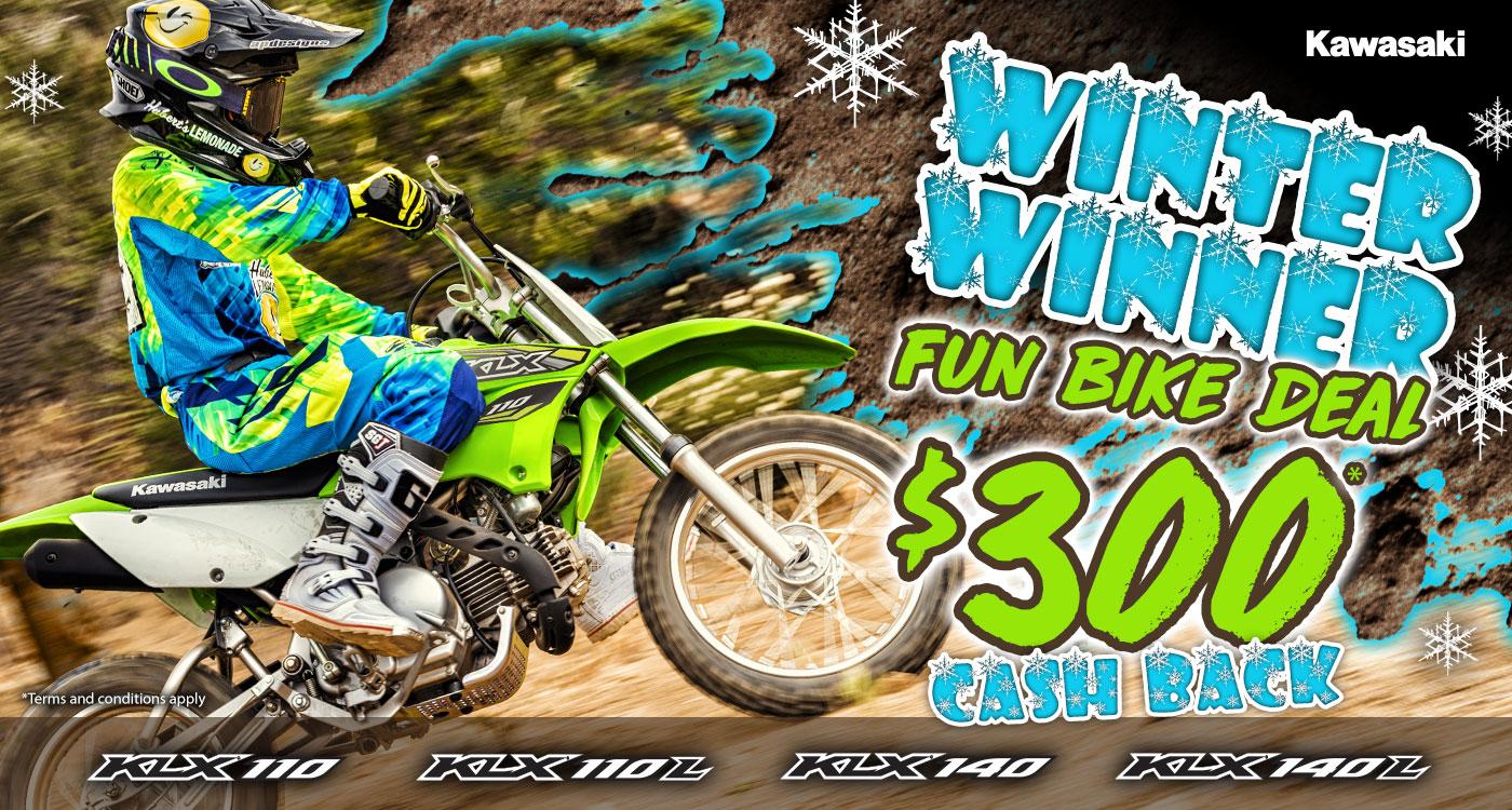 Winter Winner Fun Bike Deal