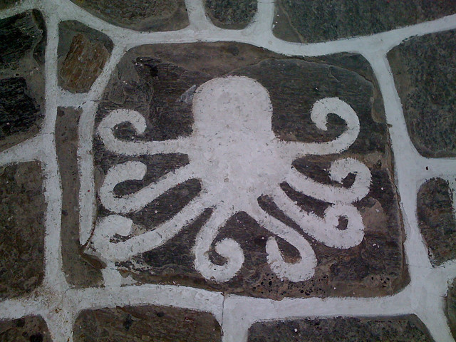 Paros 12 octopus, Apple iPhone 3G