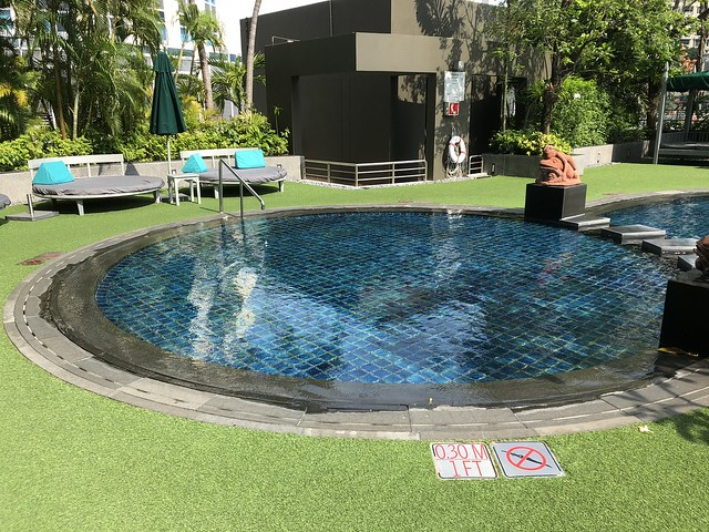 Piscine - Athenee Bangkok