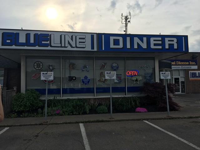 Blue line diner
