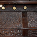 Brownsover, Warwickshire, Church of St. Michael and all Angels, organ, keyboard cover