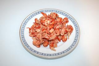 05 - Zutat Flusskrebsschwänze / Ingredient crayfish tails