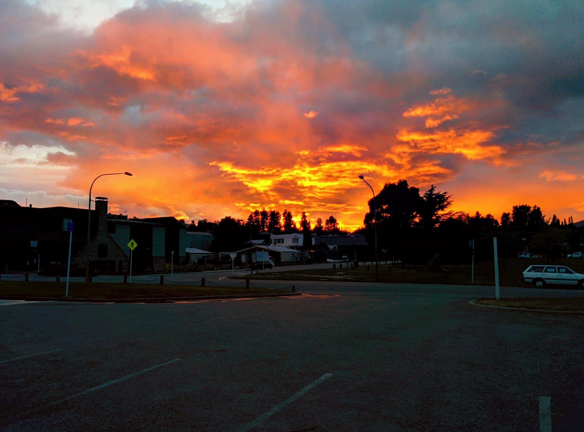 Sunrise over Wanaka