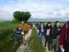 07 du côté des marcheurs sur les chemins de campagne - Photo of Plaizac