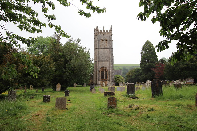 West tower, All Saints, Piddletrenthide